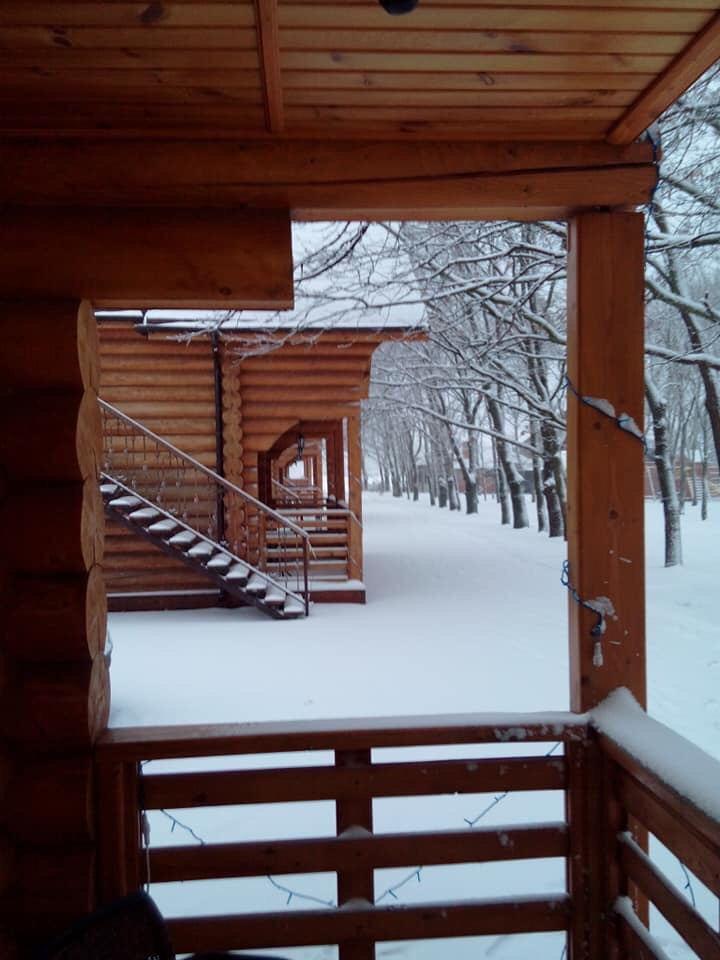 Готель взимку